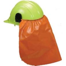 Sisakra csatlakoztatható tarkóvédő, PVC anyagból