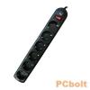 Ewent EW3951 Power Surge Protector 6x lásd részletek