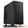 "FRACTAL Design Core 1500 Black Black,2x5,25"",4x3,5"",microATX,Audio,Táp nélkül,195x370x450mm,1x2,5"",2xUSB3.0"