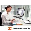Regiszter, műanyag, A4 Maxi, 1-10, nyomtatható, ESSELTE, áttetsző (E100213)