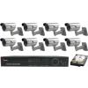 SANAN 8 kamerás SANAN prémium térfigyelő rendszer