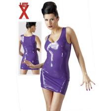 Latex miniruha - lila bőr, lakk, latex eszköz