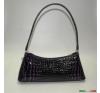 Lila kisméretű egyvállas táska kézitáska és bőrönd