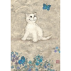 Heye puzzle 500 db - White Kitty, Cats