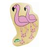 LENA Flamingó fűzős játék