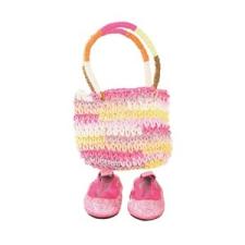 GÖTZ táska és cipő szett (42-46 cm-es és 46-50 cm-es) játékbaba felszerelés
