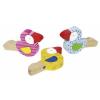 Goki Fa játék hangszer, állatfigurás mini trombita