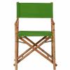 BOLLYWOOD rendezői szék bambusz zöld