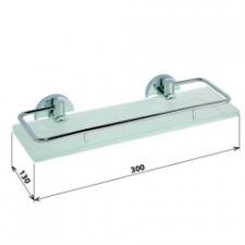 Sapho Omega üvegpolc Cikkszám: 104102202 fürdőkellék
