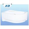 H2O Fortuna 170x100 aszimmetrikus kád