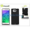 Muvit Samsung SM-G850 Galaxy Alpha hátlap - Muvit miniGel - black