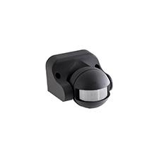 Oldalfalra szerelhető infra mozgásérzékelő (DS106) fekete villanyszerelés