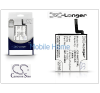 Cameron Sino Nokia Lumia 625/Lumia 720 akkumulátor - Li-Polymer 2000 mAh - (BP-4GWA utángyártott) - X-LONGER mobiltelefon akkumulátor