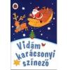 Libell Kiadó Kft. Vidám karácsonyi színező