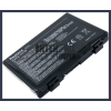 PRO8D 4400 mAh 6 cella fekete notebook/laptop akku/akkumulátor utángyártott