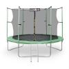 KLARFIT Rocketstart XXL trambulin biztonsági hálóval