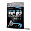 BioTech Nitro Pure Whey Gold mogyorókrém 454 g