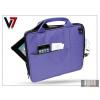"Haffner Univerzális tablet táska 10"" - V7 Attache Case - lila"