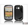 Haffner HTC Desire C szilikon hátlap - S-Line