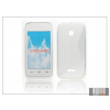 Haffner Huawei Ascend Y210D szilikon hátlap - S-Line - transparent