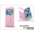 Kalaideng Apple iPhone 6 flipes tok - Kalaideng Iceland 2 Series View Cover - pink