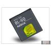 Nokia 6700 Classic gyári akkumulátor - Li-Ion 970 mAh - BL-6Q (csomagolás nélküli)
