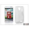 Haffner LG F70 D315 szilikon hátlap - S-Line - transparent