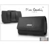 Pierre Cardin Elegant vízszintes, csatos-fűzős, különleges minőségű tok mobiltelefonhoz - TS11 méret tok és táska