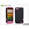 CASE-MATE HTC One V hátlap - Case-Mate Tough - pink