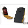 Haffner SLIGO flipes bőrtok - Nokia 5530 - fekete