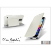 Pierre Cardin Samsung SM-G800 Galaxy S5 Mini flipes slim tok - Pierre Cardin DeLuxe Slim Folio - white