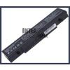Samsung RF411-S65L 4400 mAh 6 cella fekete notebook/laptop akku/akkumulátor utángyártott