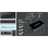 Transcend Transcend USB 3.0 HUB (4 port, fekete)