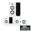 Auna Linie-300-WH 5.0 hangfal rendszer, fehér