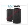 Eazy Case DECO SLIM univerzális bőrtok - Samsung i8160 Galaxy Ace 2/Sony Xperia E1/Huawei Ascend Y200 - fekete - 17. méret