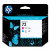 HP HEWLETT PACKARD HP No. 72 Magenta and Cyan Printhead C9383A