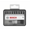 Bosch Bosch 2607002561 Csavarozó bit készlet Robust Line S extrakemény, 8 + 1 részes, 25 mm, Pz