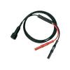 Testec BNC mérővezeték [ BNC dugó - dugó] 1 m Fekete, Piros Testec 7066-IEC-50-100-S