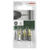 Bosch Bosch 3 részes Csavarozó bit készlet titánium (PH) 2609255965 hossz 25 mm
