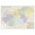 Stiefel Falitérkép,140x100 cm, fémléces,  Magyarország postai irányítószámos, STIEFEL