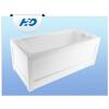 H2O Danuta 150x70 egyenes akril kád (kádláb nélkül ) *