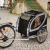 Karlie Haaren No Limit Doggy Liner Paris de Luxe kerékpáros utánfutó - H 148 x Sz 90 x M 88 cm / 50 kg-ig