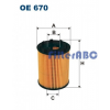 JC PREMIUM FILTRON olajszűrő (PURFLUX rendszer)