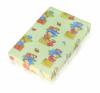Lorelli Economy habszivacs matrac 70x140x8 cm - vegyes színek kiságy, babaágy