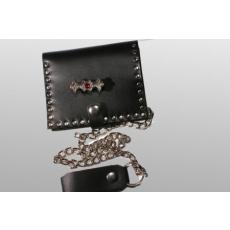 Marhabőr pénztárca gótikus dísszel