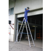 KRAUSE - Stabilo két oldalon járható biztonsági létra 2x14 fokos (profi)
