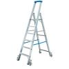 KRAUSE - Stabilo gurítható lépcsőfokos állólétra 5 fokos (profi)