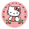 Hello Kitty tortaostya 20 cm kerek