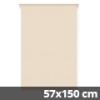 Mini roló, homokszín, ablakra: 57x150 cm