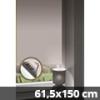 Hőszigetelő thermo mini roló, fehér, ablakra: 61,5x150 cm